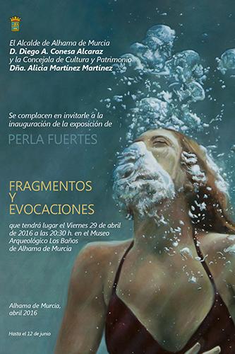 Invitación exposición Perla Fuertes